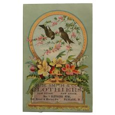 Trade Card- H.H. Smith &CO. Clothiers