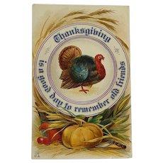 Thanksgiving Platter Of Friendship