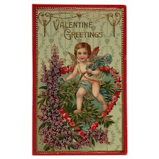 Sweet Cupid With Quiver Postcard