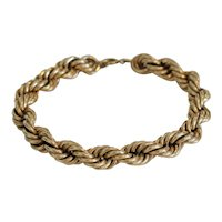 Vintage 14 k yellow gold bracelet, ca. 1940
