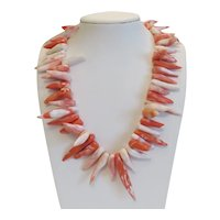 Vintage Coral necklace, middle of 20th century