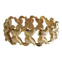 Art Deco 18k yellow gold bracelet, ca. 1930
