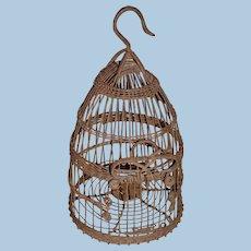 Antique Wire Bird Cage