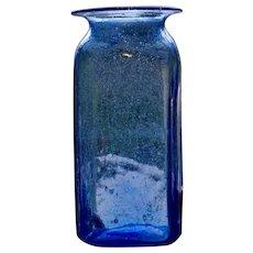 Early American Blown Storage Jar, Medium Size