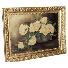 19th Century Period Gilt Frame with an Old Oil Painting