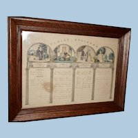 Early Family Registry of the Dewey Family from Westfield Massachusetts