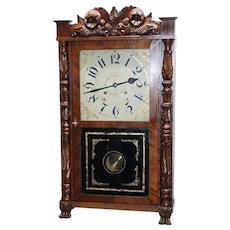 Riley Whiting Clock Case with Brass Movement