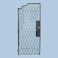 19th Century Wrought Iron Gate or Door