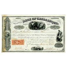 1868 Bank of Catasauqua Stock