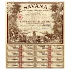 1951 Savana Societe Industrielle Bond