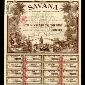 1951 Savana Societe Industrielle Bond