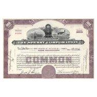 1947 Sperry Corporation Stock