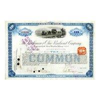 1901 Baltimore & Ohio RR Stock Certificate