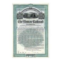 1904 Monroe RR Bond