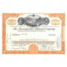 MONOPOLY Game Railroad Stock Certificates