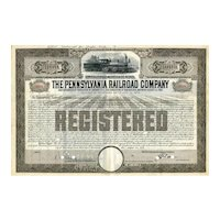 1955 Pennsylvania RR Co Registered Bond