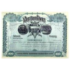 18__ Raritan River RR Stock Certificate