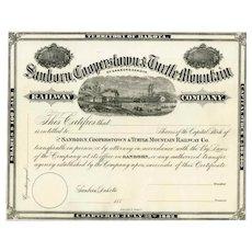 188_ Sanborn Cooperstown & Turtle Mountain RW Stock