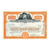 1950s Packard Motor Car Stock Certificate