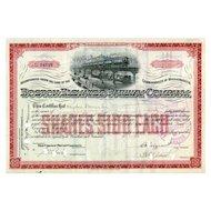 1913 Boston Elevated RW Stock Certificate
