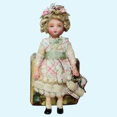 "Precious Little 3"" Miniature OOAK artist Dollhouse doll"
