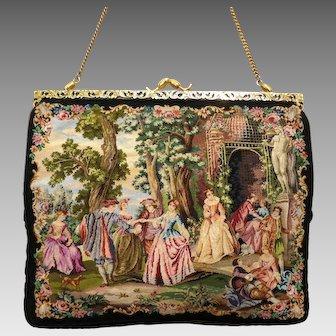 Vintage Purse Petit Point Scenic Spulcioni Firenze Bag Handbag