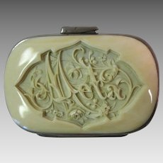 Fabulous Carved Coin Purse