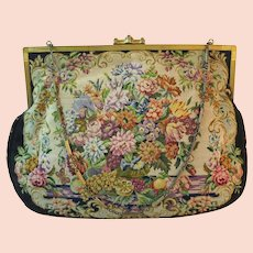 Vintage Petit Point Purse by Artbag Bag Handbag