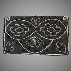 Vintage Beaded Purse Art Deco Wallet Clutch