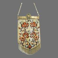 Vintage Mandalian Gloria Mesh Purse Bag Handbag Bracelet Opening Flapper Bag 20s