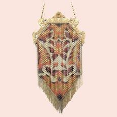 Wonderful Vintage Mandalian Mesh Purse