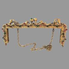 Antique Vintage Jewel Purse Frame Mount for Bag Handbag