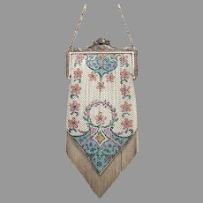 Mandalian Mesh Purse Vintage Bag Handbag (Baby Mesh)