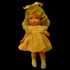 Early Japan Mold Nancy Ann Storybook Doll