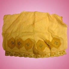 Vintage Chiffon Fabric With Beautiful Embellishments