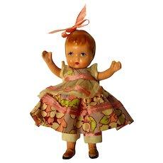 EARLIEST Mold Nancy Ann Storybook Doll Made In Japan