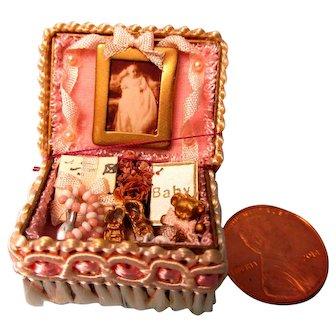 Adorable Miniature Presentation Box For Baby