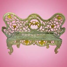 Antique Soft Metal Sofa