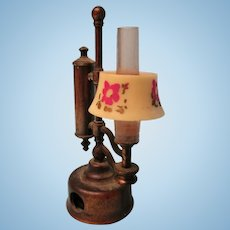 Vintage Oil Lamp For Your Doll House