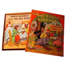 1938 Boxed Books - Uncle Wiggily  Set