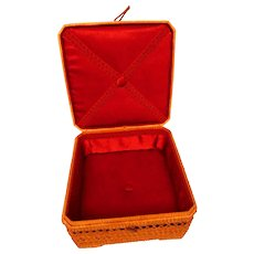 Presentation Box - Vintage and Excellent Condition- Lining