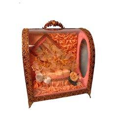 Victorian Wedding Casket - Beautiful Condition