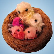 Little Bird Nest For Your Dolls-Mommy and Her Babies