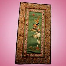 Lovely Vintage Oriental Tapestry or Rug
