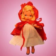 Little Red Riding Hood - Nancy Ann Doll - Pudgy Tummy