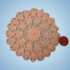 SALE!   Small Hand Crochet Doily