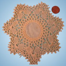 SALE!   Vintage Small Hand Crochet Doily