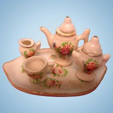 Tiny Tea Set Made In Occupied Japan