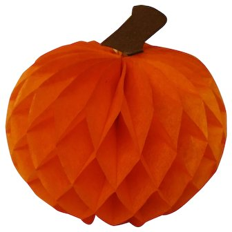 Vintage Honey-comb Pumpkin - Never Used