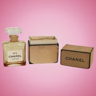 Chanel No. 5 Glass Bottle Original Box Small
